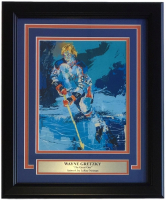 "Leroy Neiman ""The Great One"" 15x18 Custom Framed Print Display at PristineAuction.com"