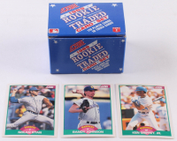 1989 Score Rookie / Traded Complete Set of (110) Baseball Cards with #100T Ken Griffey Jr. RC, #77T Randy Johnson, ##2T Nolan Ryan at PristineAuction.com