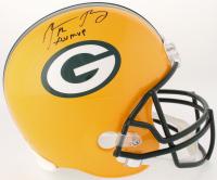 "Aaron Rodgers Signed Packers Full-Size Helmet Inscribed ""XLV MVP"" (Steiner Hologram)"