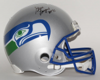 "Steve Largent Signed Seattle Seahawks Throwback LE Full-Size Authentic On-Field Helmet Inscribed ""HOF '95"" (Steiner COA) at PristineAuction.com"