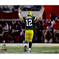 Aaron Rodgers Signed Green Bay Packers 20x24 LE Photo (Steiner COA) at PristineAuction.com