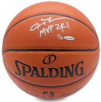 "Allen Iverson Signed Limited Edition Basketball Inscribed ""MVP 2K1"" (UDA COA) at PristineAuction.com"