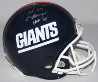 "Lawrence Taylor Signed New York Giants Throwback LE Full-Size Authentic On-Field Helmet Inscribed ""HOF 99"" & ""2x SB Champs"" (Steiner COA) at PristineAuction.com"