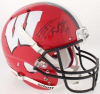 J. J. Watt Signed Wisconsin Badgers Full-Size Helmet (JSA COA & Watt Hologram)