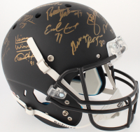 College Football's Best Matte Black Full-Size Helmet Signed by (24) with Bo Jackson, Archie Griffin, Charlie Ward, Mark Ingram (Steiner LOA & COA) at PristineAuction.com