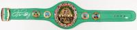 Floyd Mayweather Jr. Signed Full-Size WBC Heavyweight Championship Belt (Beckett COA)
