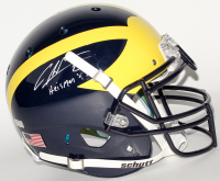 "Charles Woodson Signed Michigan Wolverines Full-Size Authentic On-Field Helmet Inscribed ""Heisman 97"" (Radtke COA)"