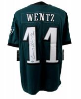 "Carson Wentz Signed Eagles Nike Jersey Inscribed ""AO1"" (Fanatics Hologram)"