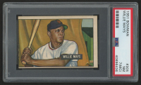 1951 Bowman #305 Willie Mays RC (PSA 7) (MC)