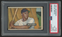 1951 Bowman #305 Willie Mays RC (PSA 4) (MC) at PristineAuction.com