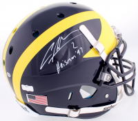 "Charles Woodson Signed Michigan Wolverines Full-Size Authentic On-Field Helmet Inscribed ""Heisman 97"" (Radtke COA) at PristineAuction.com"
