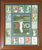 Mike Trout LE Angels 20x24 Custom Framed Display with Autograph Card at PristineAuction.com
