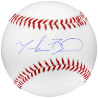 Mookie Betts Signed Baseball (Fanatics Hologram & MLB Hologram) at PristineAuction.com