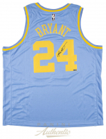 Kobe Bryant Signed Los Angeles Lakers Throwback Jersey (Panini COA) at PristineAuction.com