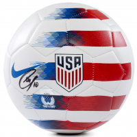 Christian Pulisic Signed Nike 2018 USA White Prestige Soccer Ball (Panini COA) at PristineAuction.com