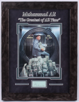 "Muhammad Ali Signed ""The Greatest of All Time"" 14.5x18.5 Custom Framed Cut Display (JSA LOA) at PristineAuction.com"