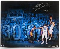 "Dirk Nowitzki Signed Dallas Mavericks 16x20 Limited Edition Photo Inscribed ""30k"" (UDA COA) at PristineAuction.com"