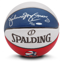 "Julius ""Dr. J"" Erving Signed Limited Edition ABA Spalding Basketball (UDA COA) at PristineAuction.com"