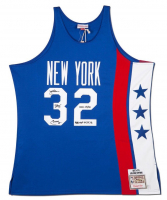 "Julius ""Dr. J"" Erving Signed New York Nets Limited Edition Jersey Inscribed ""ABA MVP 74, 75, 76"" (UDA COA) at PristineAuction.com"