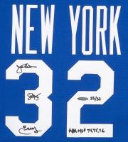 "Julius ""Dr. J"" Erving Signed New York Nets Limited Edition Jersey Inscribed ""ABA MVP 74, 75, 76"" (UDA COA) at PristineAuction.com"