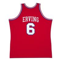 """Julius """"Dr. J"""" Erving Signed Philadelphia 76ers Jersey Inscribed """"'83 NBA Champ"""" (UDA COA) at PristineAuction.com"""
