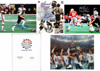 Lot of (3) Chicago Bears Signed Mystery 8x10 Photo – 1985 World Champions Edition – Series 1 - (Limited to 234) **1985 Bears Team 16x20 Photo Redemption**