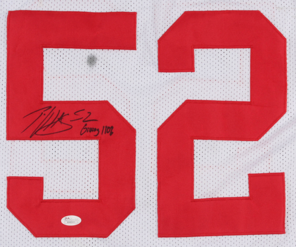 cc8367c2c10 Patrick Willis Signed 49ers Jersey Inscribed