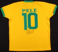Pele Signed Team Brazil Jersey (PSA Hologram)