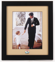 John F. Kennedy 13x15 Custom Framed Photo Display with Pin
