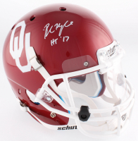 "Baker Mayfield Signed Oklahoma Sooners Full-Size Helmet With Clear Visor Inscribed ""HT '17"" (Beckett COA)"