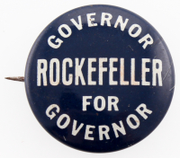 Vintage Nelson Rockefeller Campaign Pin