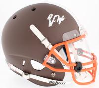 Baker Mayfield Signed Browns Custom Matte Brown Full-Size Helmet With Clear Visor (Beckett COA)