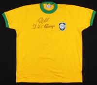 "Pele Signed Brazil 1970 World Cup Jersey Inscribed ""3x W.C. Champ"" (PSA Hologram)"