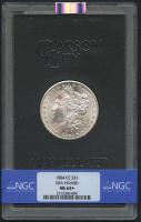 1884-CC $1 Morgan Silver Dollar (NGC MS 64+)