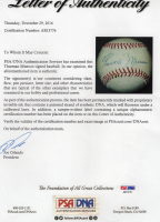 Thurman Munson Signed OL Baseball (PSA LOA) at PristineAuction.com