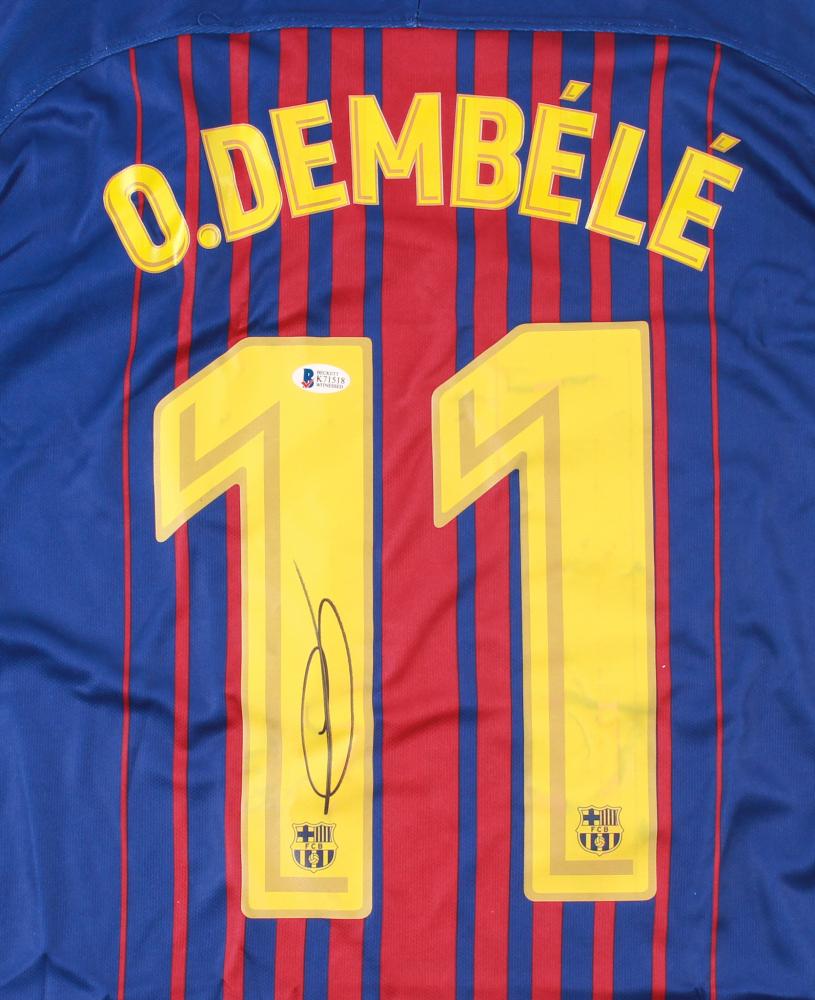 f585cd202 Ousmane Dembele Signed Barcelona Nike Jersey (Beckett COA) at  PristineAuction.com
