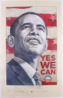 Barack Obama LE 25x39.5 Campaign Poster Lithograph