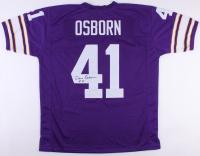 Dave Osborn Signed Vikings Jersey (JSA COA)