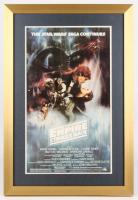 """Star Wars: The Empire Strikes Back"" 17x25 Custom Framed Movie Poster Display"