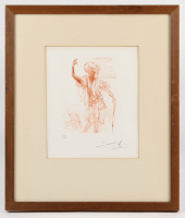 """Salvador Dali Signed """"Othello"""" 15x18 Limited Edition 1968 Etching (PA LOA)"""