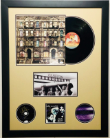 Robert Plant, Jimmy Page, and John Paul Jones Signed Led Zeppelin 26x33 Custom Framed Display (JSA COA & LOA)