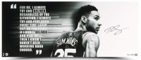 "Ben Simmons Signed Philadelphia 76ers ""Deliver"" 15x36 Limited Edition Photo (UDA COA) at PristineAuction.com"