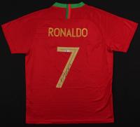 Cristiano Ronaldo Signed Portugal National Jersey (Beckett COA)