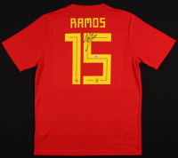 Sergio Ramos Signed Spain National Jersey (Beckett COA) at PristineAuction.com