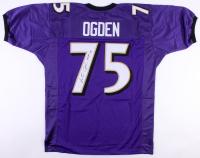 """Jonathan Ogden Signed Jersey Inscribed """"HOF 13"""" (JSA COA) at PristineAuction.com"""