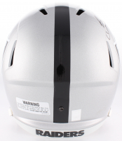 Bo Jackson Signed Raiders Full-Size Speed Helmet (Jackson Hologram) at PristineAuction.com