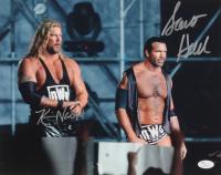 Kevin Nash & Scott Hall Signed 11x14 Photo (JSA COA)