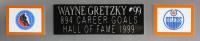 Wayne Gretzky Signed 35x43 Custom Framed Jersey (Beckett LOA) at PristineAuction.com