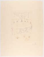 "Salvador Dali Signed 1975 LE ""Lancelot, Comrade of the Round Table"" 20x26.25 Etching (PA LOA) at PristineAuction.com"