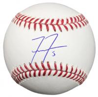 Freddie Freeman Signed OML Baseball (Beckett COA)